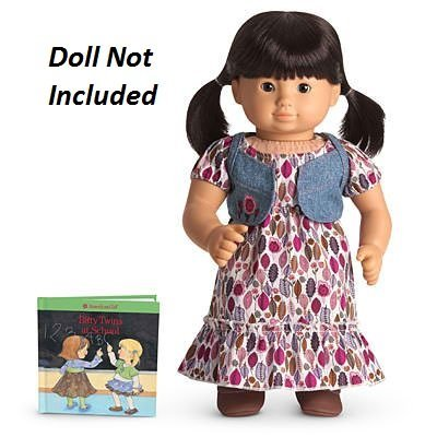 also fits Bitty Baby DOLL IS NOT INCLUDED American Girl Bitty Twin RETIRED Prairie Dress Outfit