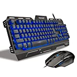 TeckNet-Phoenix-Mechanical-Feel-Gaming-Keyboard-and-Mouse-Set-Water-Resistant-Design-Aircraft-Grade-Aluminum