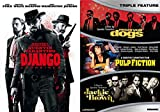 Django Unchained + Reservoir Dogs, Pulp Fiction & Jackie Brown DVD Quentin Tarantino Collection
