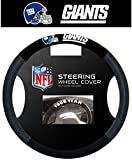 Nfl Steering Wheel Cover: New York Giants *** Product Description: Nfl Steering Wheel Cover: New York Giantspoly-Suede Material For Comfortable Grip. Slips On Easily. Printed With Your Favorite Team'S Logocomfortable Gripprinted With Official Tea ***