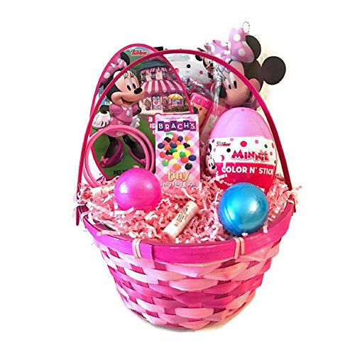 Disney Minnie Mouse Happy Easter Basket