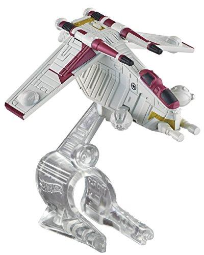 Hot Wheels, Star Wars, Republic Attack Gunship Die-Cast Vehicle ()