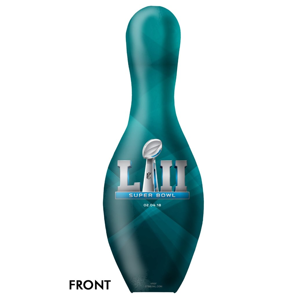 Philadelphia Eagles Super Bowl LII Champions Bowling Pin
