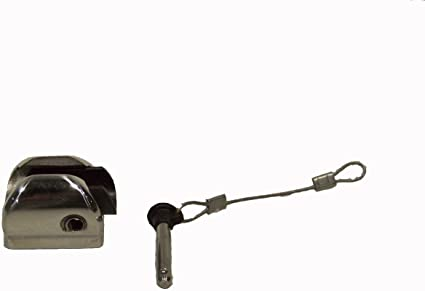 Stainless steel Bimini top Taco style Ball and Socket Deck Hinge