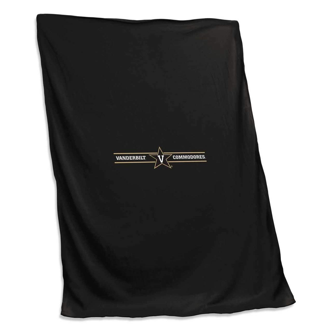 Logo Vanderbilt Commodores NCAA 54 X 84 Fleece Sweatshirt Blanket - Team Color, by Logo