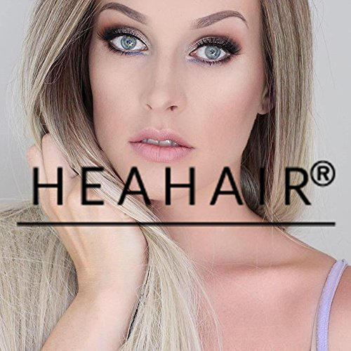 Heahair Wonderful Color Halloween Costume Blonde Handtied Synthetic Lace Front Wig (Blonde Ombre)