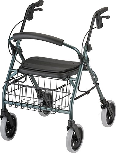 NOVA Medical Products Cruiser Deluxe Walker, Green (Line Cruisers Green)