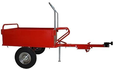 Bricoferr Remolque de Motoazada para carga hasta 200kg ...
