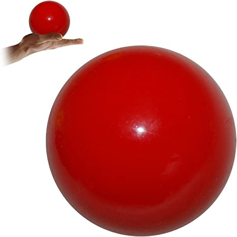 Practice Contact Juggling Ball 100mm (Red) by Flames N Games ...