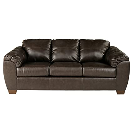 Incroyable Amazon.com: Ashley Furniture Signature Design   Franden DuraBlend  Contemporary Faux Leather Sofa   Cafe Brown: Kitchen U0026 Dining