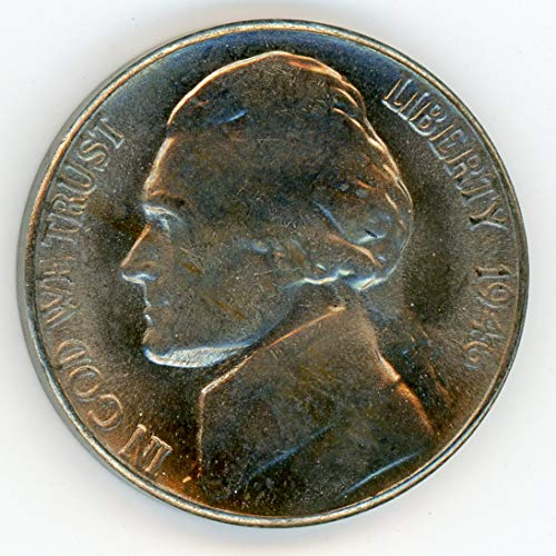 1946 S Jefferson Nickel MS-65