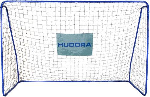 Hudora - 76128 - Jeu de Plein Air et Sport - But de Football XXL - 300 x 205 x 120 cm - Diamètre du Tube - 32/28 mm