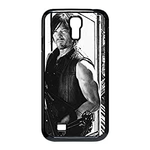 The Walking Dead Daryl Dixon Custom Skidproof Printed case cover for Samsung Galaxy S4 I9500 Black 022702