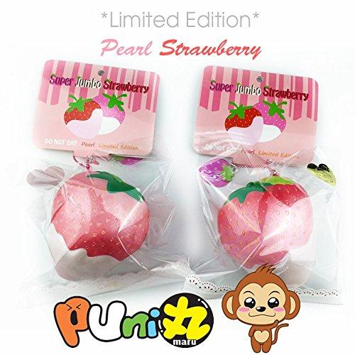 Puni Maru Limited Edition Super Jumbo Pearl Strawberry