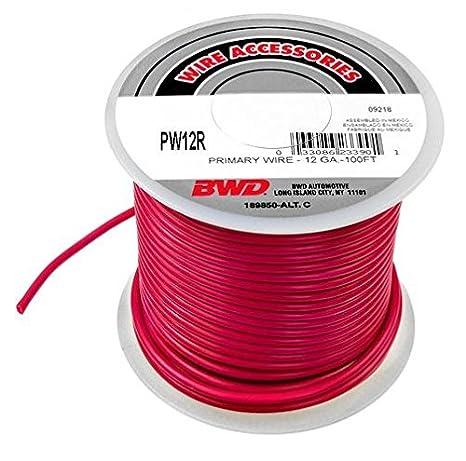 Amazon.com: BWD Wire Accessories, Primary Wire, PW16R - 12 GA. - 100 ...