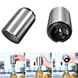 Stainless Steel Modern Design Portable Bottle Opener Home Bar Resturant Kitchen Party Decoration Tool Gadget for Beer Bottle Glass Soda cap etc.