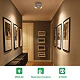 Olafus 2 Pack LED Wireless Spotlight, 400LM Accent