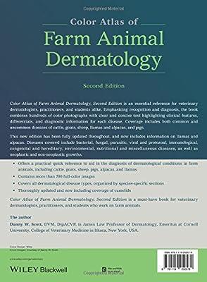 Color Atlas of Farm Animal Dermatology                         (Hardcover)
