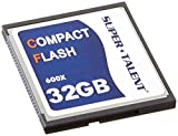 Super Talent 32 GB Flash Memory Card CF/32-600X
