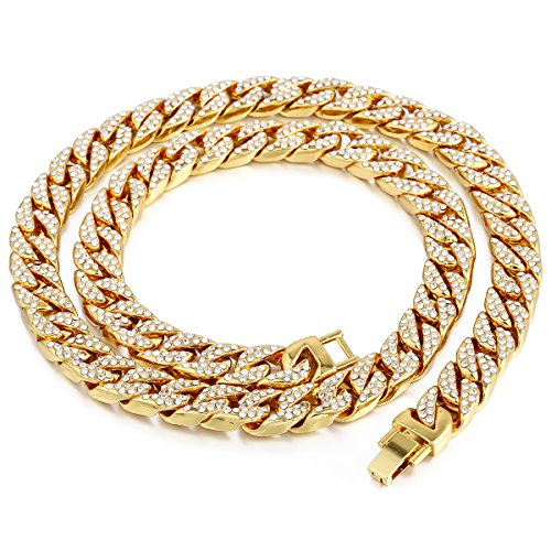 iced out hip hop jewelry - 1