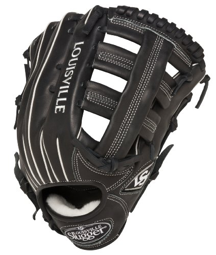Louisville Slugger 12.75-Inch FG Pro Flare Baseball Outfielders Gloves, Black, Left Hand Throw ()
