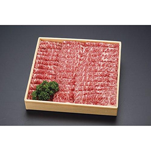 北海道びらとり和牛 肩ロースすき焼き1kg