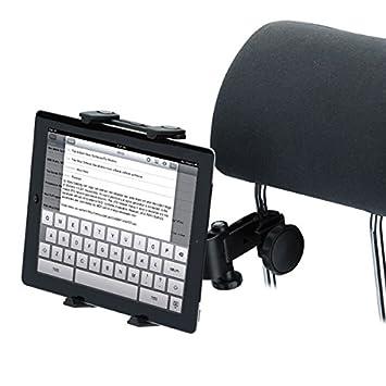 Universal Back Seat Headrest Tablet soporte Holder coche Stand Soporte Soporte para iPad 2 3 4 Tablet PC GPS: Amazon.es: Electrónica