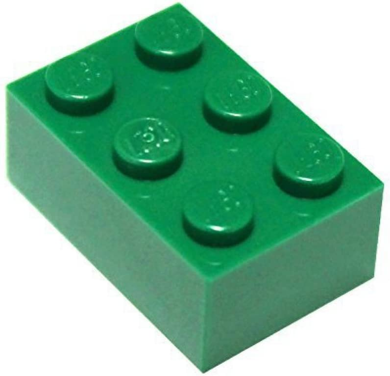 2x3 White Brick x100 LEGO Parts and Pieces