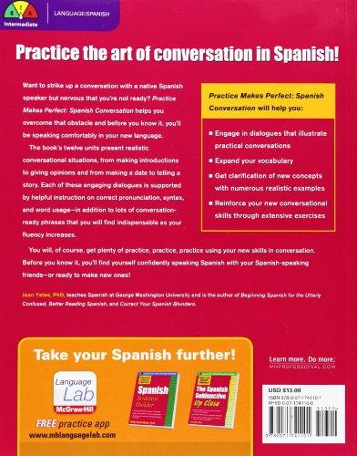 Spanish Conversation (Practice Makes Perfect)