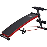 RELIFE REBUILD YOUR LIFE Sit Up Bench Adjustable Workout Foldable Bench Fitness Equipment for Home Gym Ab Exercises New…