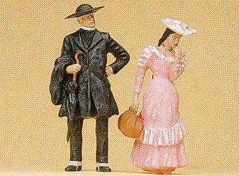 Preiser 45054 Pastor with Girl by Preiser