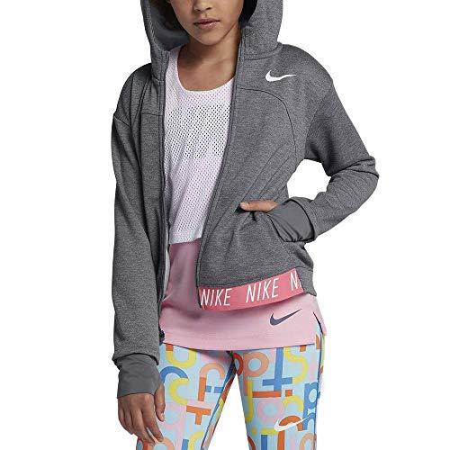 Dri fit939533 Grigio Nike da bambina freddo con cappuccio Grigio antracite Bianco Giacca IwqZ0I