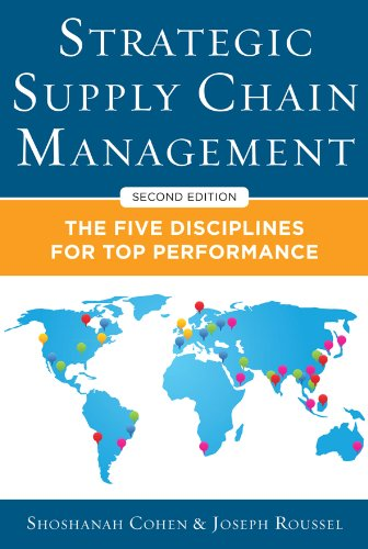 Amazon strategic supply chain management the five core strategic supply chain management the five core disciplines for top performance second editon by fandeluxe Gallery