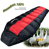 Popular Goose Down Sleeping Bag 4Season Mummy Camping Backpacking Compact Winter