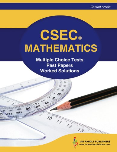 CSEC Mathematics Multiple Choice Tests Past Papers And