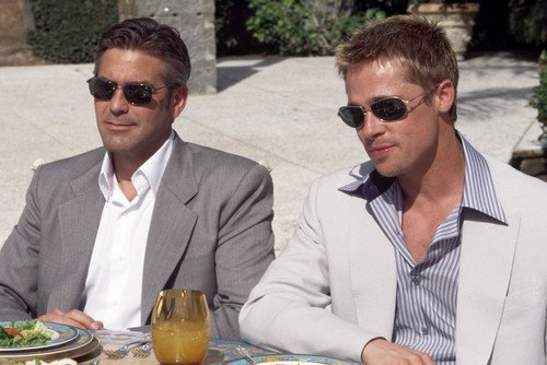 George Clooney 24x36 Poster cool in - George Sunglasses Clooney