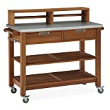 Home Styles Bali Hai Bar Cart / Potting Bench