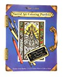 Sacred Art Coloring Portfolio - Mary Around The World in Stained Glass