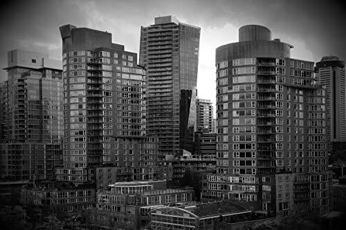 スーパーマン ナイトシティ バックドロップ スーパーヒーロー スパイダーマン スカイライン ダークシティ ラスティック オールドリアルブラック オフィス ビジネス ビルディング マンションハウス キッズ プリント生地 写真 背景 12` wide by 8` tall GJ-25