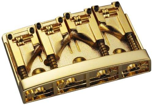 Schaller シャーラー 4弦ベース用ブリッジ 3D-4 469/Gold (国内正規品) B00BJR6QG0 Gold