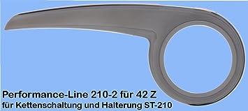 Halterung Steckbrille für DEKAFORM Fahrrad Kettenschutz 210 42 Z Kettenschaltung