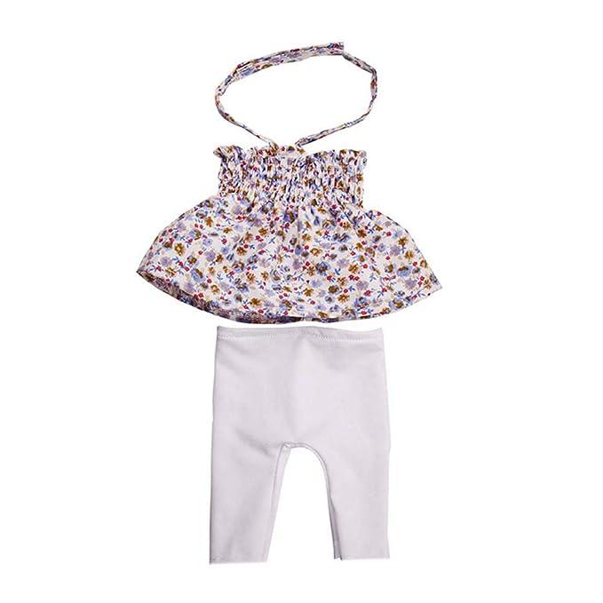BeesClover Cute Set Vestito Pantaloni Tuta per 45,7/cm American Girl Doll Clothes Kids Gift B144