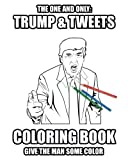 The one and only: Trump and Tweets coloring book. Give the man some color. Enjoy art therapy!