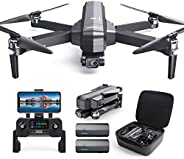 DEERC DE22 GPS Drone with 4K Camera 2-axis Gimbal, EIS Anti-Shake, 5G FPV Live Video Brushless Motor, Auto Ret