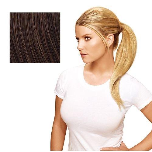 Hairdo 18 inch Simply Straight Pony Tru2Life Heat-Friendly Synthetic Ponytail Chocolate Copper