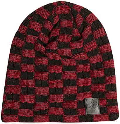 a8beace7b5791 JINX World of Warcraft Horde Two-Tone Slouchy Beanie (Black Red