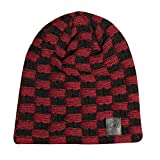 JINX-World-of-Warcraft-Horde-Two-Tone-Slouchy-Beanie-BlackRed-One-Size