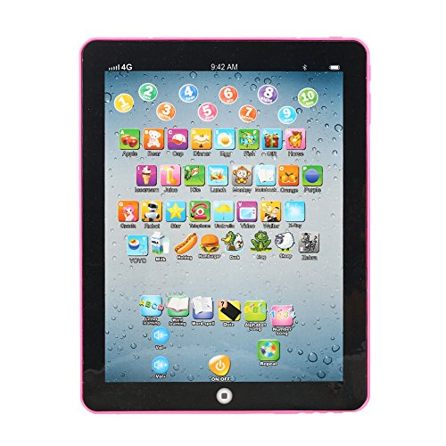 Y-pad English Computer Tablet Learning Education Machine Toy (Pink) - 7
