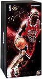 Enterbay NBA Masterpiece Michael Jordan Collectible Figure #23 [Red Uniform Road