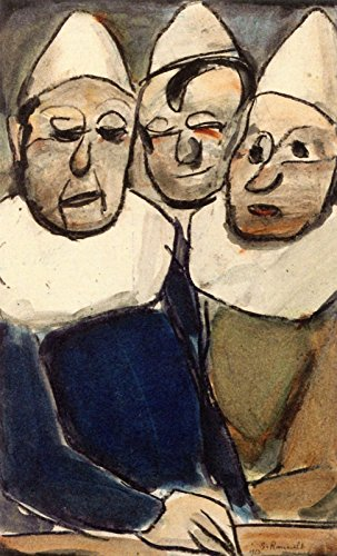 Georges Rouault Clown Trio 1913 Private Collection 30
